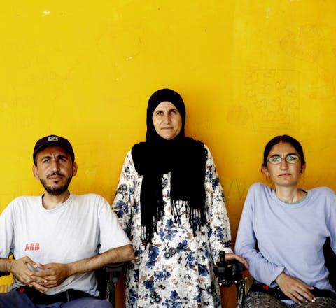 Alan en Gyan, vluchtelingen uit Syrië