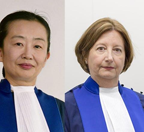 Rechters aan het Internationaal Strafhof in Den Haag