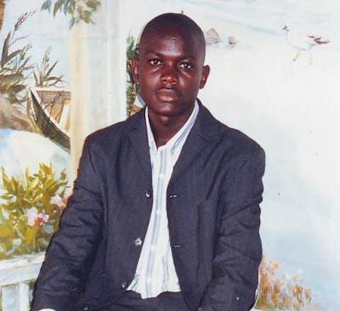 Ivo Feh uit Kameroen