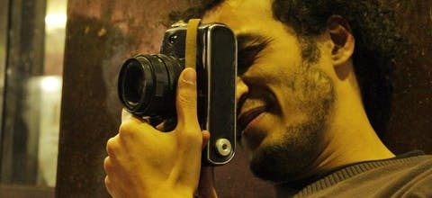 Fotojournalist Shawkan uit Egypte