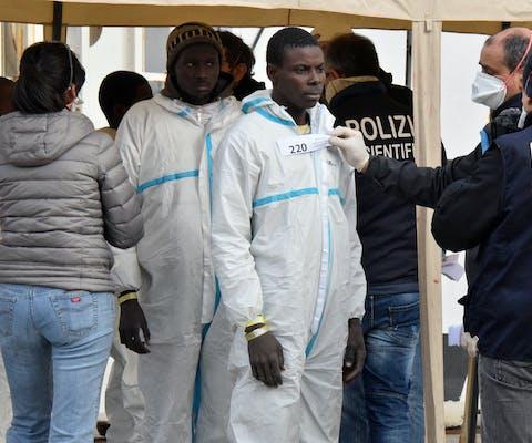Italië vluchtelingen