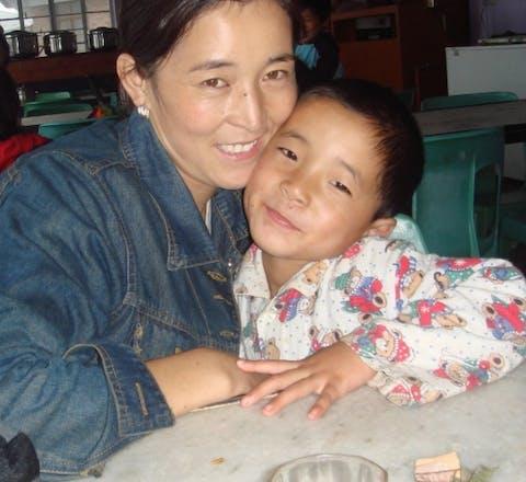 Dolma Tso uit Tibet