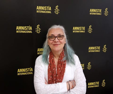 Idil Eser, directeur van Amnesty Turkije