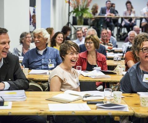 Vergadering van de Ledenraad in 2016