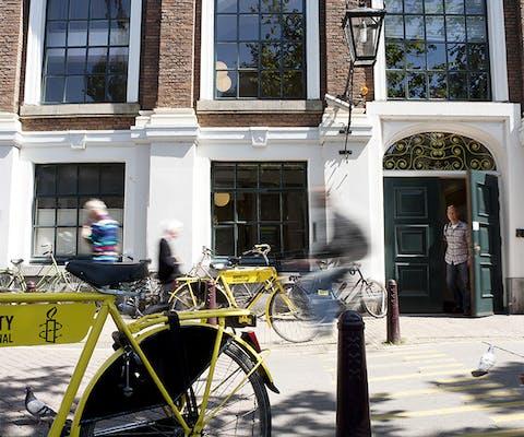 Kantoor van Amnesty Nederland in Amsterdam