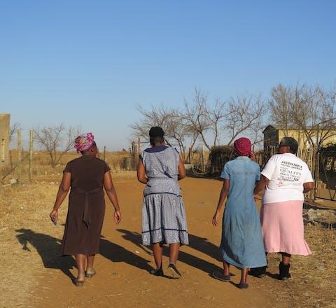 Vrouwen en meisjes in Zuid-Afrika
