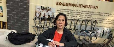 Mensenrechtenactivist Ni Yulan uit China