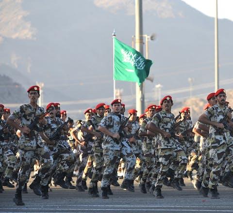 Elitetroepen van het Saudi-Arabische ministerie van Binnenlandse Zaken