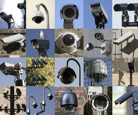 Bewakingscamera's in Londen