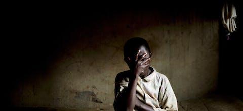 Voormalige Congolese kindsoldaat