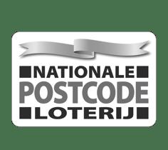 Logo van Amnesty en de Postcode Loterij