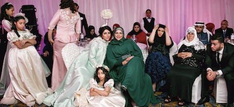 Bruiloft in Saudi-Arabië
