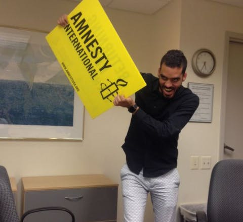 El Sexto bij Amnesty USA