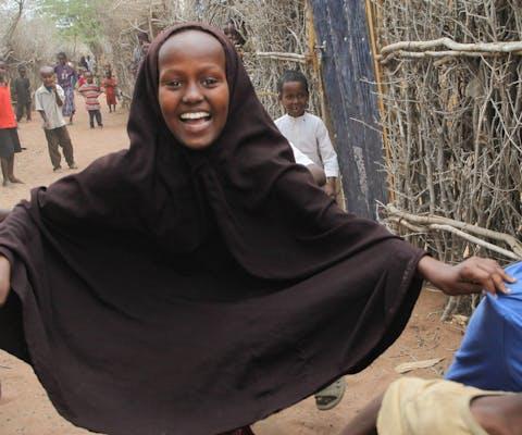Kinderen in het Dadaaab vluchtelingenkamp in Kenia
