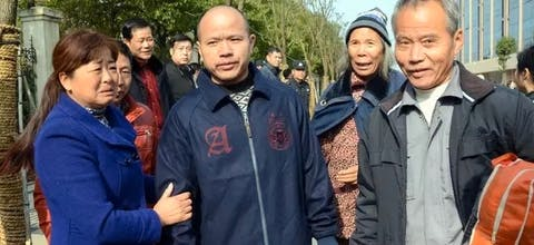 In China zijn eind november vier terdoodveroordeelde mannen vrijgelaten. Huang Zhiqiang, Fang Chunping, Cheng Fagen en Cheng Lihe zaten meer dan dertien jaar in de gevangenis,