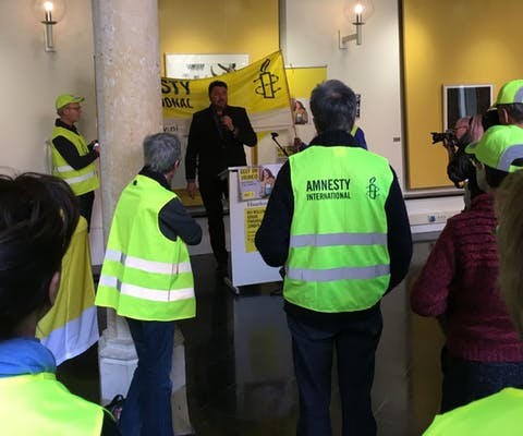Kick-off collecteweek 2017 in Haarlem