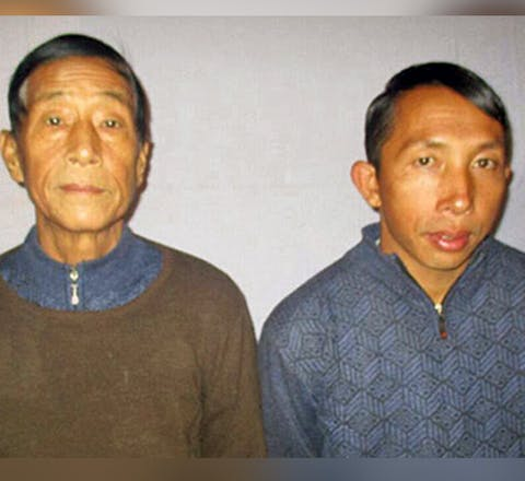 Pastors Dumdaw Nawng Lat and Langjaw Gam Sen