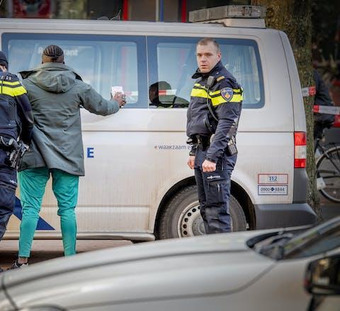 Grote politiecontrole in Rotterdam