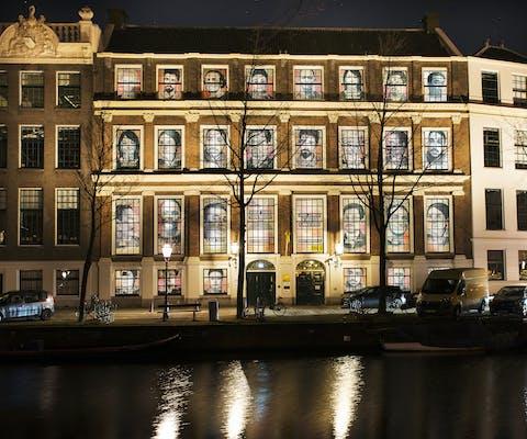Het Amnesty-hoofdkantoor in Amsterdam