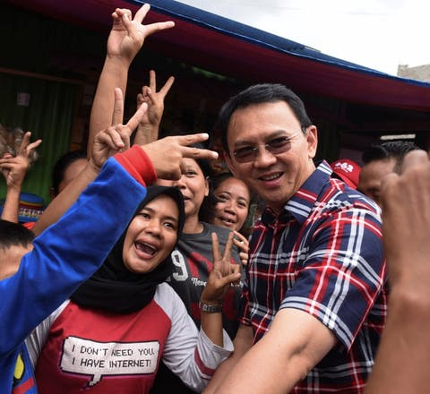 De christelijke gouverneur van Jakarta, Basuki Tjahaja Purnama, is tot twee jaar cel veroordeeld vanwege godslastering.