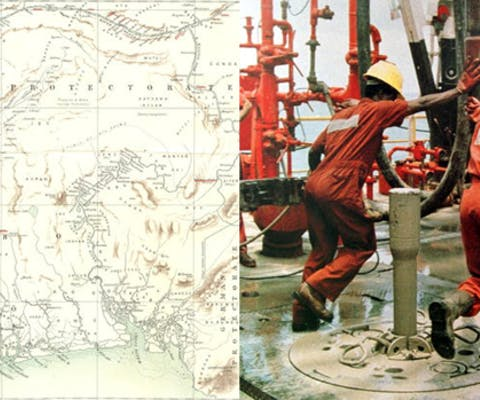 Shell ontdekt olie in Nigeria