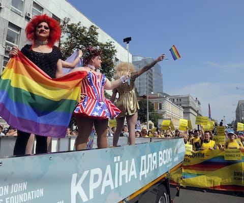 Pride in Kiev, Oekraïne