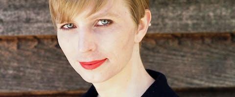Chelsea Manning na haar vrijlating.