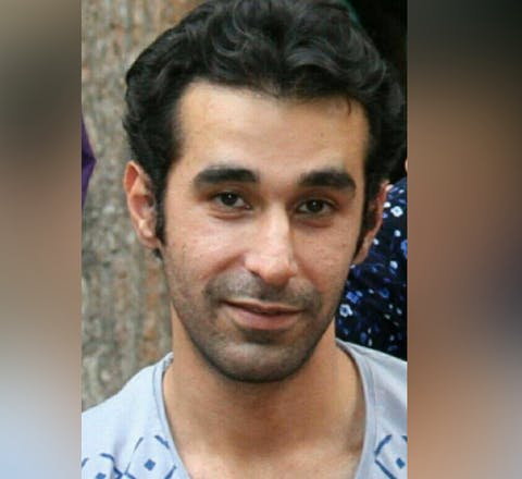 Omid Alishenas, 33, has been imprisoned in Evin prison since December 2016, serving a seven-year prison sentence for his peaceful human rights work, including opposition to the death penalty.