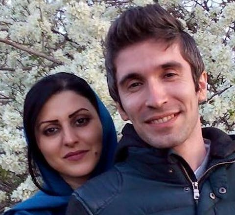 Jailed HRDs in Iran serving prison sentences for their peaceful human rights activities. Also married to one another.