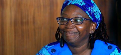 Stella Nyanzi, academicus uit Oeganda