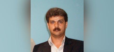 Vakbondsactivist Reza Shahabi uit Iran
