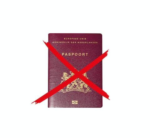 Rapport paspoortmaatregel en uitreisverbod