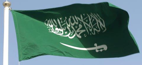 Saudische vlag