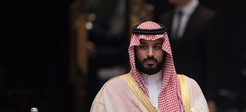 Kroonprins Mohammad bin Salman al-Saoed van Saudi-Arabië