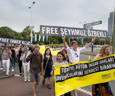 Demonstratie Istanbul 10