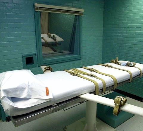 Executieruimte in Huntsville, Texas
