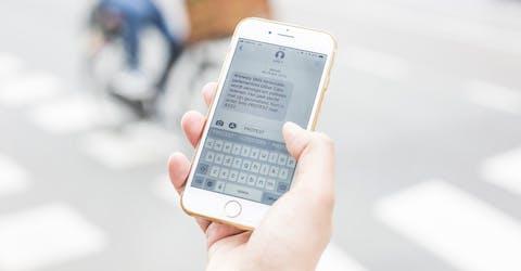 SMS-actie