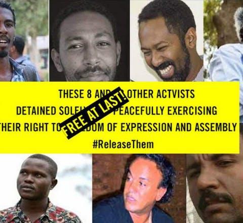 Sudanese activisten vrijgelaten