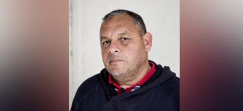 Mensenrechtenverdediger Rodrigo Mundaca van de milieuorganisatie MODATIMA uit Chili