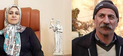 Iran: Zeynab Taheri en Mohammad Salas