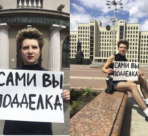 Viktoria Biran, LHBTI-activist in Wit-Rusland