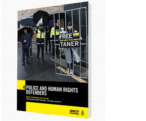 Police and human rights defenders