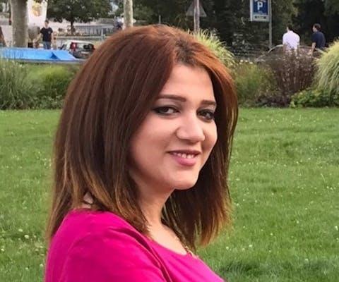 Amal Fathy uit Egypte