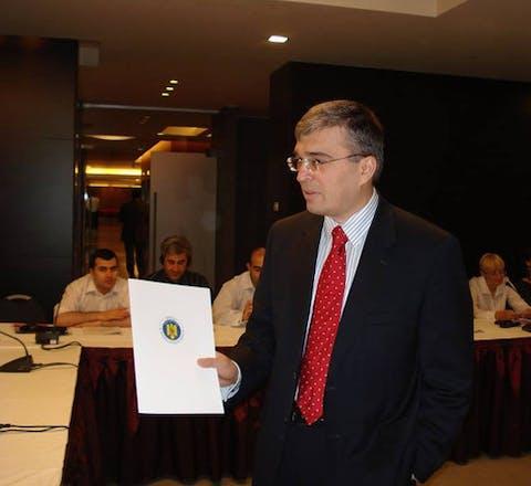 Ilgar Mammadov uit Azerbeidzjan