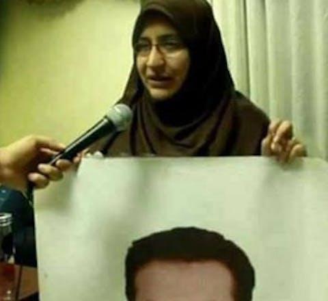 Mensenrechtenverdediger Hanan Badr el-Din uit Egypte richtte samen met anderen de Vereniging van Families van Slachtoffers van Gedwongen Verdwijningen op.