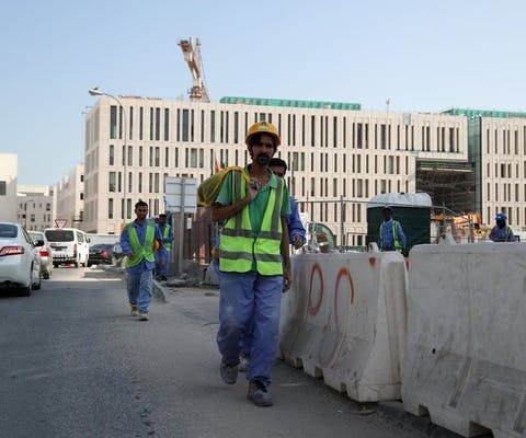Arbeidsmigranten in Qatar