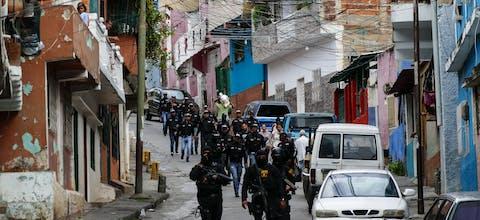 Politie in Venezuela