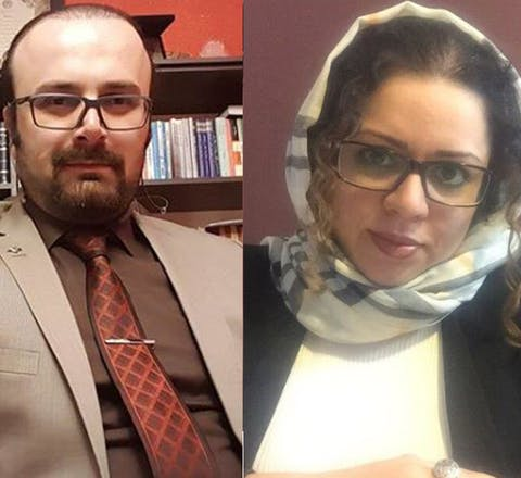 Gearresteerd in Iran: Najmeh Vahedi, Payam Derafshan, Hoda Amid en Farokh Forouzan