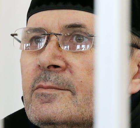 De Russische mensenrechtenverdediger Oyub Titiev