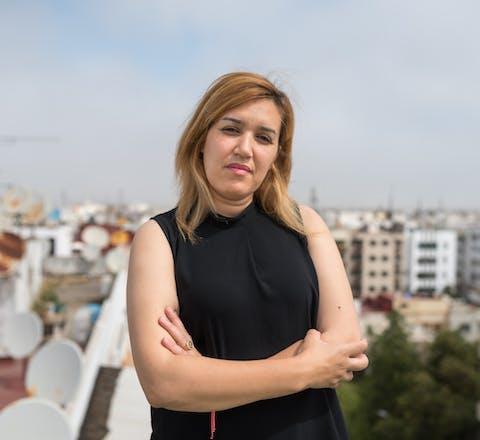 De Marokkanse activist Nawal Benaissa heeft aiel in Nederland gekregen